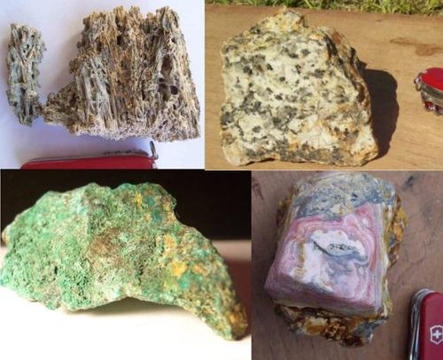 permuto minerales por lo que vos quieras. oferta de regalo
