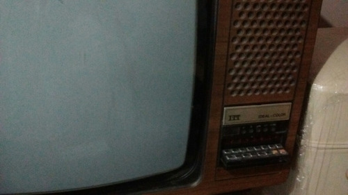 permutó o vendo antiguo televisor color itt