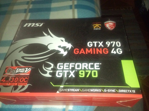permuto pc gamer gtx 970 msi  12 de ram por ps4 o notebook
