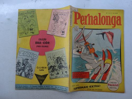 pernalonga nº 24! 1ª série! ebal março 1963!