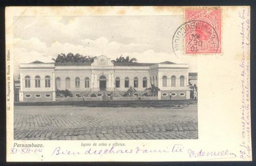 pernambuco - liceu de artes e ofícios