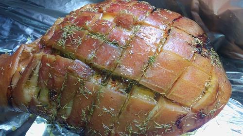 pernil de cerdo 20 pers.+salsas+ panes