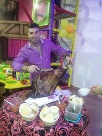 pernil de cerdo hecho en horno de barro a leña