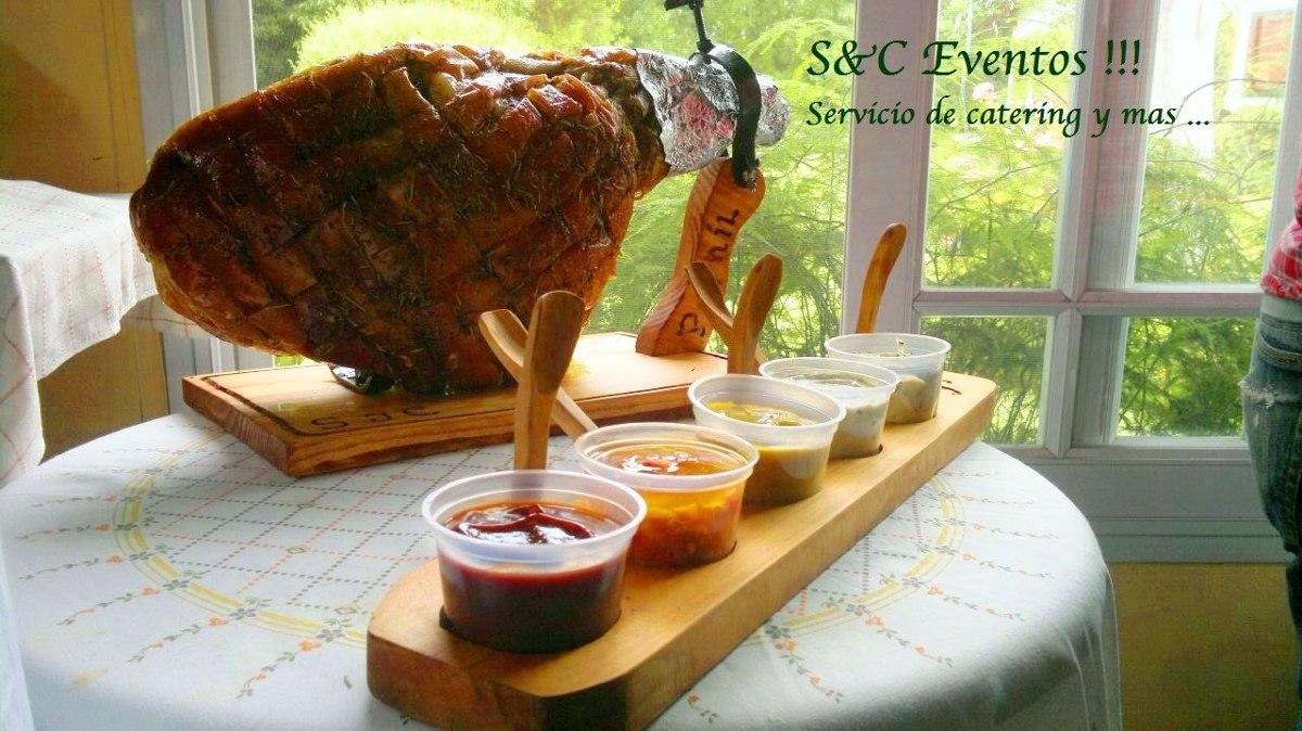 Pernil de cerdo jam n para 40 personas completo 2 for Cocinar para 40 personas