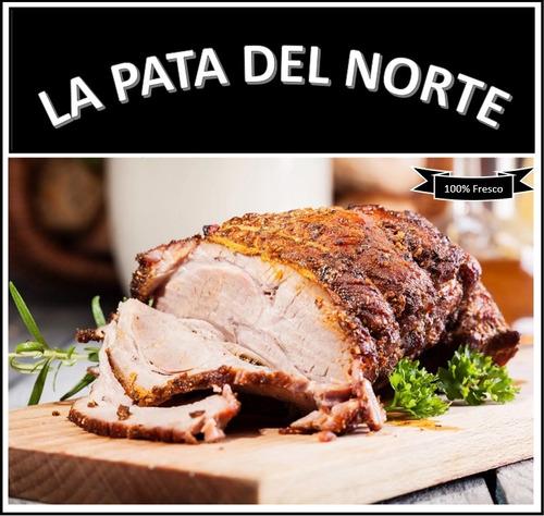 pernil de cerdo p/ 15 20 personas! lo mejor la pata norte