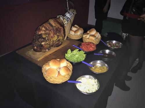 pernil de cerdo - pernil party - pizza party zorba catering