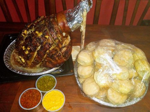 perniles (cerdo y ternera)+gaseosa gratis