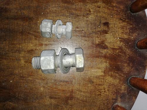 pernos de acero con revestimiento gavalnizados 3 1/4 y 2 3/4