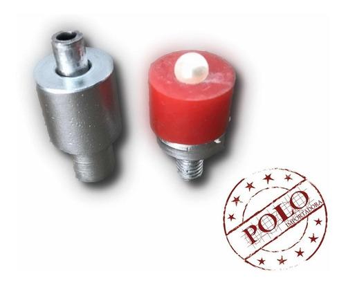 pérolas com rebite tamanho 8 polo importa (aprox. 2700 unid)