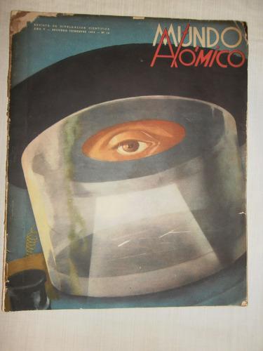peronismo antigua revista mundo atomico numero 16 año 1954