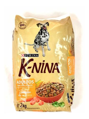 perrarina k-nina para adultos - pollo  -  2kg