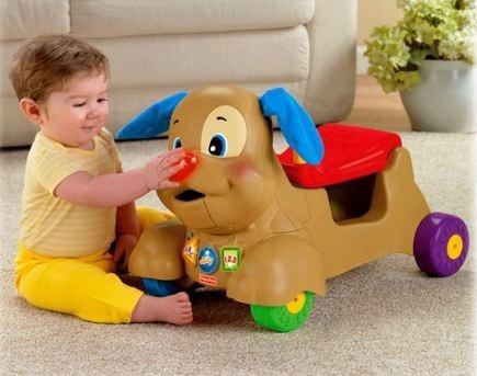 perrito andador carrito caminador 3 en 1 fisher price