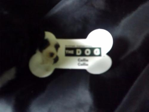 perrito de peluche colección mc donald's-modelo collie