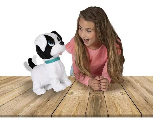 perrito interactiva bowie da besos verdad c. petz creciendo