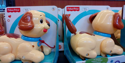 perrito snoopy fisher price