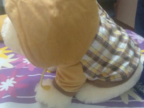 perritos de peluche antialergico para niños