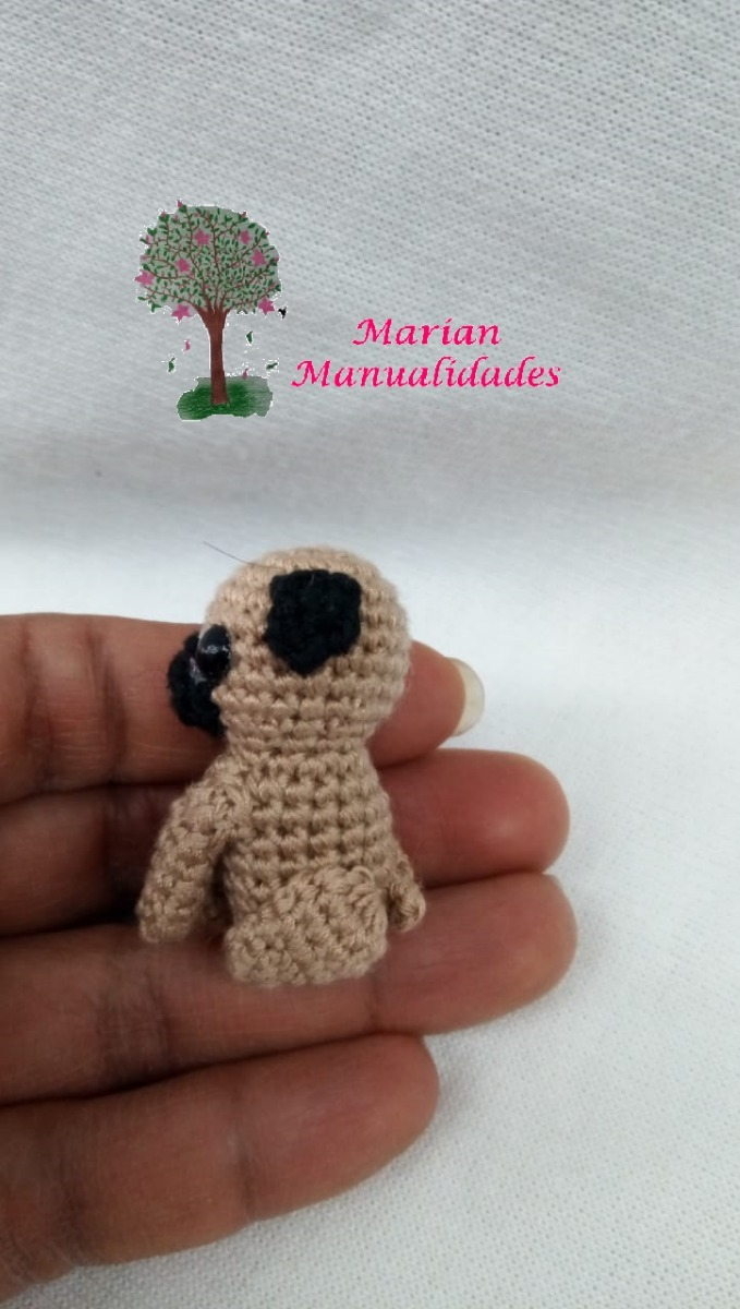 Sleepy-eyed pug amigurumi pattern - Amigurumipatterns.net | 1200x679
