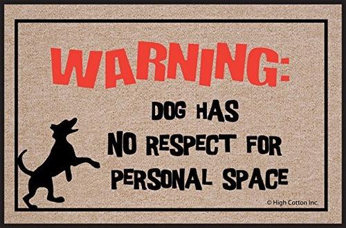 perro altos algodón espacio personal felpudo