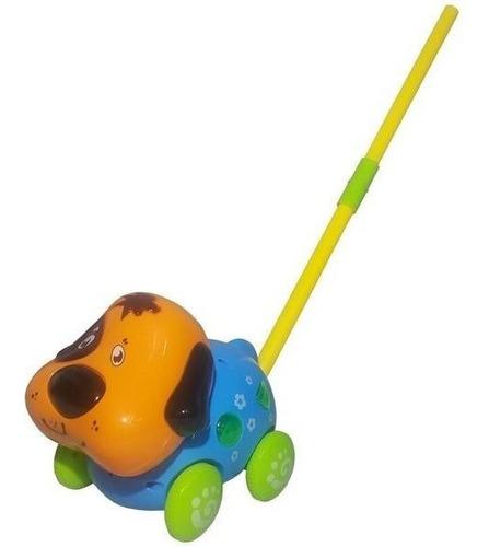 perro arrastre luz y sonido 19x15cm