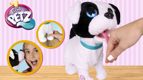 perro bowie mascota interactiva besitos club petz tv perrito