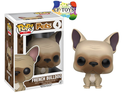 perro bulldog cachorro funko pop pets mascota animal dog cf