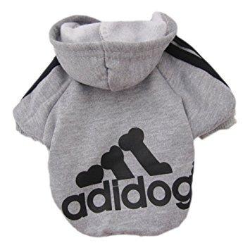 perro de mascota zehui suéter del gato del perrito caliente