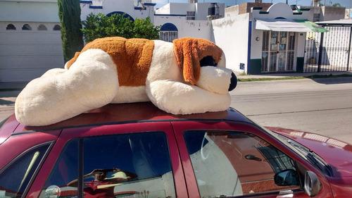 perro de peluche gigante san bernardo dormilon jumbo 1.80 m!