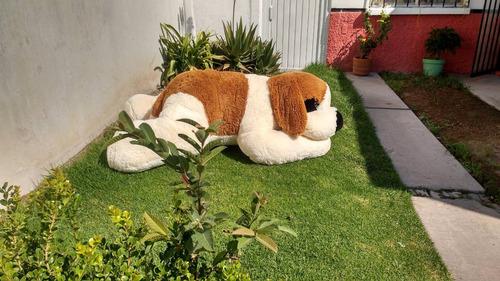 perro de peluche gigante san bernardo dormilon jumbo 2 m!