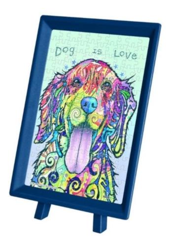 perro dean russo rompecabezas c/ marco 150 piezas pintoo