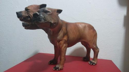 perro fluffy de 3 cabezas harry potter warner bros 2007