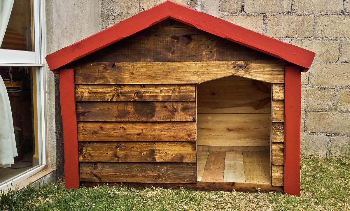 Casa de madera para perro grande impermeabilizante dogo for Cuanto cuesta una casa de madera