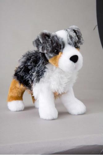 perro pastor australiano cachorro de peluche y felpa douglas