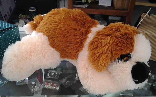 perro san bernardo de peluche 35 cms