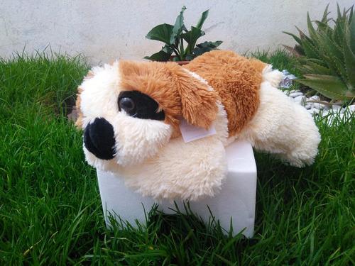 perro san bernardo de peluche 40 cms