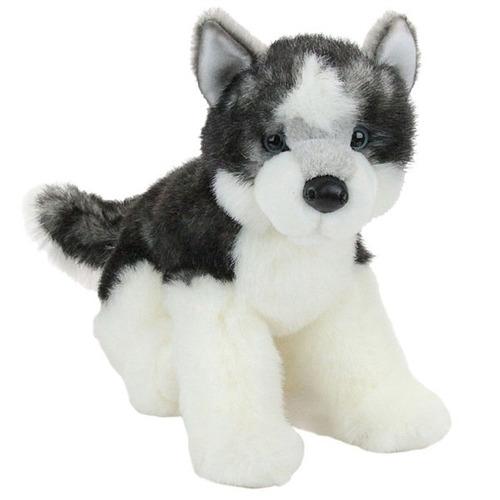 perro siberian husky adulto de peluche y felpa marca douglas