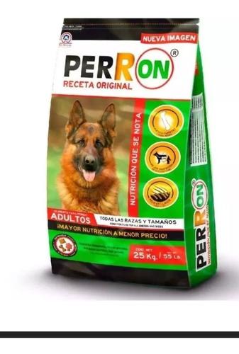 perron adulto 25kg croqueta alimento perro todas las razas