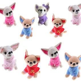 Perros Chihuahua 6 Pzas Lote Peluches Mayoreo
