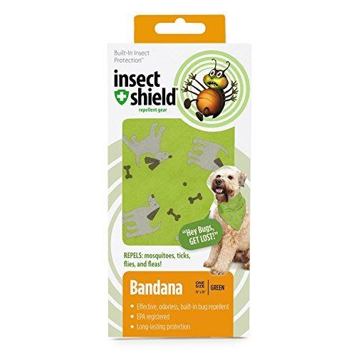 perros de insectos escudo y huesos pañuelos