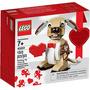 Perro Cupido De Lego San Valentín Envío Gratis