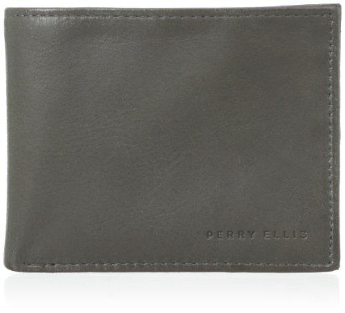 en venta 053f4 350bd Perry Ellis Cartera Delgada De Connecticut Para Hombre