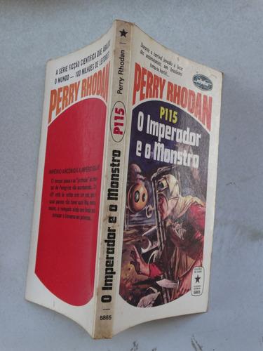 perry rhodan n° p115! editora tecnoprint 1978!