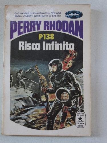 perry rhodan n° p138! editora tecnoprint 1979!