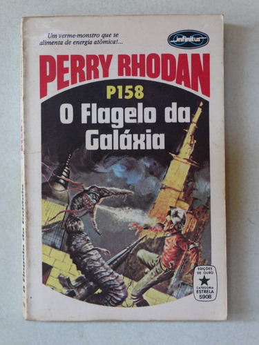perry rhodan n° p158! editora tecnoprint 1979!