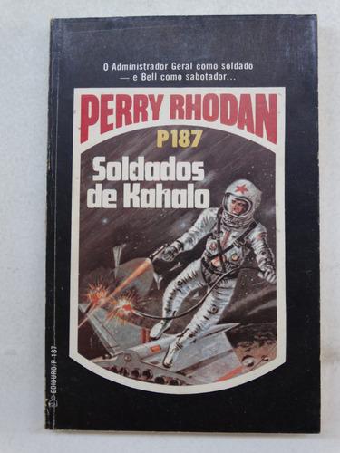 perry rhodan n° p187! editora tecnoprint 1983!