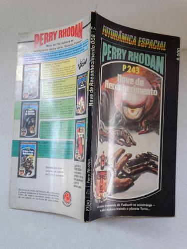 perry rhodan n° p243! editora tecnoprint 1985!