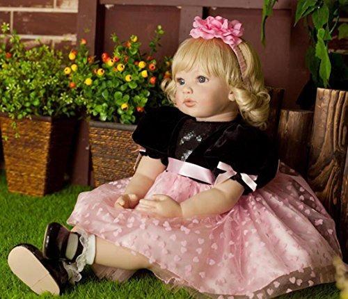 perseguir bebe hermoso cuerpo suave vida real princesa muñec