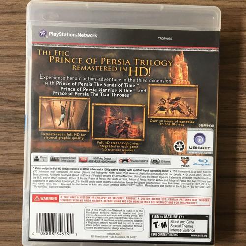 persia ps3 jogo prince