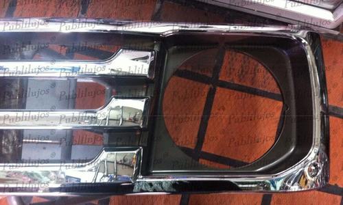 persiana cromada de lujo toyota land cruiser 4.5 alta gama