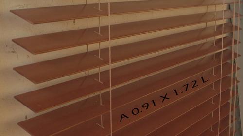 persiana de madera original