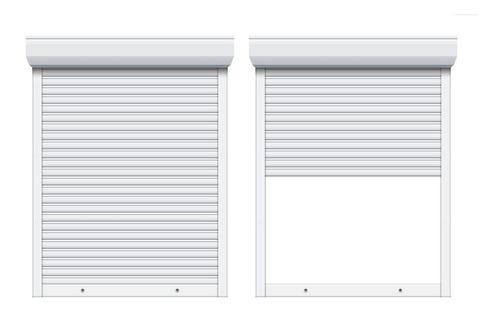 persiana enrollable pvc - sin albañilería - 160 x 200